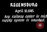 Image of Regensburg railyards bombed in World War 2 Regensburg Germany, 1945, second 2 stock footage video 65675037604