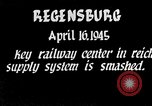 Image of Regensburg railyards bombed in World War 2 Regensburg Germany, 1945, second 4 stock footage video 65675037604
