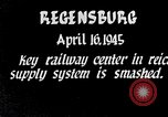 Image of Regensburg railyards bombed in World War 2 Regensburg Germany, 1945, second 6 stock footage video 65675037604