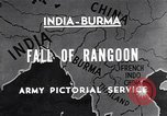 Image of British Indian 50th Parachute Division Rangoon Burma, 1947, second 1 stock footage video 65675037608