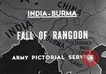 Image of British Indian 50th Parachute Division Rangoon Burma, 1947, second 2 stock footage video 65675037608
