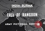 Image of British Indian 50th Parachute Division Rangoon Burma, 1947, second 3 stock footage video 65675037608