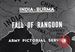 Image of British Indian 50th Parachute Division Rangoon Burma, 1947, second 4 stock footage video 65675037608