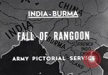 Image of British Indian 50th Parachute Division Rangoon Burma, 1947, second 5 stock footage video 65675037608