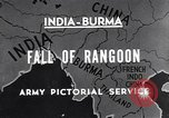 Image of British Indian 50th Parachute Division Rangoon Burma, 1947, second 6 stock footage video 65675037608
