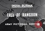 Image of British Indian 50th Parachute Division Rangoon Burma, 1947, second 7 stock footage video 65675037608