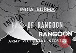 Image of British Indian 50th Parachute Division Rangoon Burma, 1947, second 8 stock footage video 65675037608