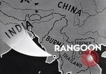 Image of British Indian 50th Parachute Division Rangoon Burma, 1947, second 9 stock footage video 65675037608