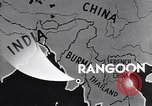 Image of British Indian 50th Parachute Division Rangoon Burma, 1947, second 11 stock footage video 65675037608