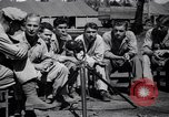 Image of American soldiers escaped from Japanese prison camp Morotai Island, 1945, second 1 stock footage video 65675037626