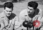 Image of Former American prisoners of Japanese interviewed Morotai Island, 1945, second 2 stock footage video 65675037627