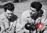 Image of Former American prisoners of Japanese interviewed Morotai Island, 1945, second 3 stock footage video 65675037627