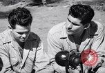 Image of Former American prisoners of Japanese interviewed Morotai Island, 1945, second 4 stock footage video 65675037627