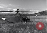Image of Whirlaway helicopter Burma, 1945, second 4 stock footage video 65675037630
