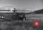 Image of Whirlaway helicopter Burma, 1945, second 9 stock footage video 65675037630