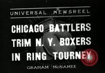 Image of Chicago battlers Chicago Illinois USA, 1936, second 1 stock footage video 65675037656