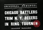 Image of Chicago battlers Chicago Illinois USA, 1936, second 2 stock footage video 65675037656