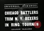 Image of Chicago battlers Chicago Illinois USA, 1936, second 3 stock footage video 65675037656