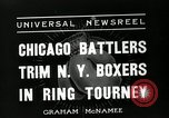 Image of Chicago battlers Chicago Illinois USA, 1936, second 4 stock footage video 65675037656