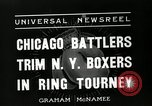 Image of Chicago battlers Chicago Illinois USA, 1936, second 5 stock footage video 65675037656