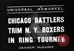 Image of Chicago battlers Chicago Illinois USA, 1936, second 7 stock footage video 65675037656