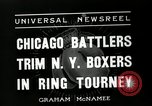 Image of Chicago battlers Chicago Illinois USA, 1936, second 10 stock footage video 65675037656