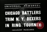 Image of Chicago battlers Chicago Illinois USA, 1936, second 11 stock footage video 65675037656
