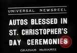 Image of Saint Christopher's Day New York United States USA, 1936, second 2 stock footage video 65675037660