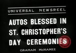 Image of Saint Christopher's Day New York United States USA, 1936, second 3 stock footage video 65675037660