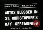 Image of Saint Christopher's Day New York United States USA, 1936, second 7 stock footage video 65675037660