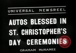 Image of Saint Christopher's Day New York United States USA, 1936, second 8 stock footage video 65675037660