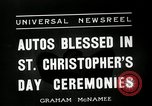 Image of Saint Christopher's Day New York United States USA, 1936, second 9 stock footage video 65675037660