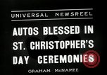 Image of Saint Christopher's Day New York United States USA, 1936, second 10 stock footage video 65675037660