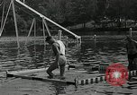 Image of Andy Linton diving stunt New Jersey United States USA, 1936, second 10 stock footage video 65675037661