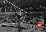 Image of Andy Linton diving stunt New Jersey United States USA, 1936, second 11 stock footage video 65675037661