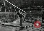 Image of Andy Linton diving stunt New Jersey United States USA, 1936, second 12 stock footage video 65675037661