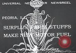 Image of fuel from corn Peoria Illinois USA, 1933, second 2 stock footage video 65675037679