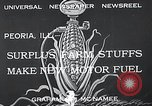 Image of fuel from corn Peoria Illinois USA, 1933, second 3 stock footage video 65675037679
