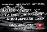 Image of gondola Obergurgl Austria, 1932, second 7 stock footage video 65675037688