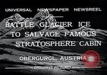 Image of gondola Obergurgl Austria, 1932, second 8 stock footage video 65675037688