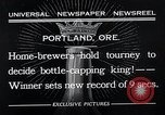 Image of home brewers Portland Oregon USA, 1932, second 3 stock footage video 65675037691
