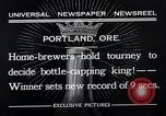 Image of home brewers Portland Oregon USA, 1932, second 5 stock footage video 65675037691