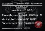 Image of home brewers Portland Oregon USA, 1932, second 6 stock footage video 65675037691