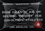 Image of 10th Olympics Los Angeles California USA, 1932, second 3 stock footage video 65675037692