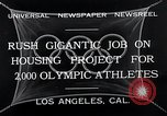 Image of 10th Olympics Los Angeles California USA, 1932, second 4 stock footage video 65675037692
