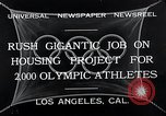 Image of 10th Olympics Los Angeles California USA, 1932, second 5 stock footage video 65675037692