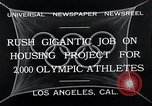 Image of 10th Olympics Los Angeles California USA, 1932, second 6 stock footage video 65675037692
