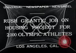 Image of 10th Olympics Los Angeles California USA, 1932, second 10 stock footage video 65675037692