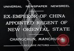 Image of Henry Pu Yi Changchun Manchuria, 1932, second 6 stock footage video 65675037694