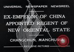 Image of Henry Pu Yi Changchun Manchuria, 1932, second 11 stock footage video 65675037694